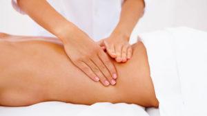 massage des fesses